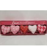Valentines Day Conversation Heart Garland Love Pink Red Decoration 6FT - $28.99