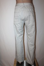 TOMMY HILFIGER Men's 38 x 32 Khaki Straight Leg Pants Chinos Jeans 100% Cotton - $28.05