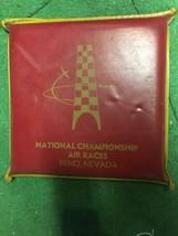 National Championship Air Races Reno Nevada seat cushion airplane Kiwani... - $49.99