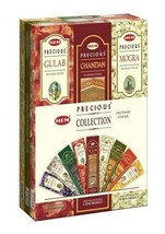Hem Precious Collection Assorted Incense sticks 9 packets of 20 grams each - $15.99