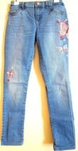 The Children's Place Rn 59284 Girl's Sequin Embellished Butterfly Jeans Size:10 - $12.70