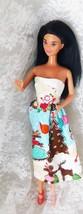 "Mattel 1988 Barbie 11 1/2"" Doll - Black Hair w/Brown Highlights - Knees ... - $8.59"