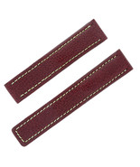 Tag Heuer 18 - 17 mm Burgundy Leather Men's Watch Band - $149.00