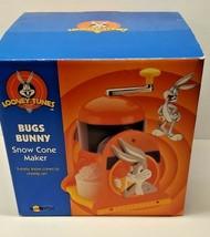 Bugs Bunny Snow Cone Maker Model  Looney Tunes 1998 Warner Bros. Films - $35.64
