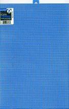 "Darice Plastic Canvas 7 Count 10""X13""-Neon Blue - $18.50"