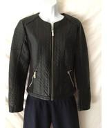 New York & Company Black Moto Jacket Brand New With Tag Small - $120.23