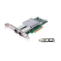 Dell X520-DA2 Intel 10GB 2-Ports (Free) SFP+ Ethernet F3VKG Network Adap... - $160.03