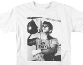 Rocky II Win Rocky Win Graphic 80s Tee Sylvester Stallone Rocky Balboa MGM225 image 2