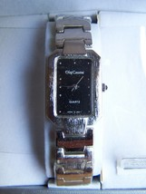 "OLEG CASSINI LADIES WRISTWATCH Vintage Brushed ""Silver"" RARE! - $19.99"