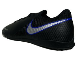 Nike Phantom Vision Soccer Turf Shoes Size 8.5-9 Men's Black & Blue AO32... - $39.99