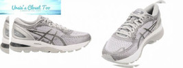ASICS Women's Gel-Nimbus 21 Running Shoes, 6.5M, MID Grey/Silver - $148.44