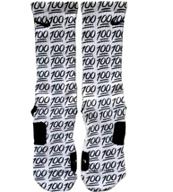 Custom 100 Emoji Nike Elite Socks ALL Sizes emoji - $23.99