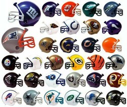 Licensed NFL Mini Football Helmet Pencil Toppers - Pick Your Team! - $0.92+