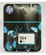 HP 564 Black Ink Cartridge CB316WN Genuine New EXP 7-2019 - $11.30