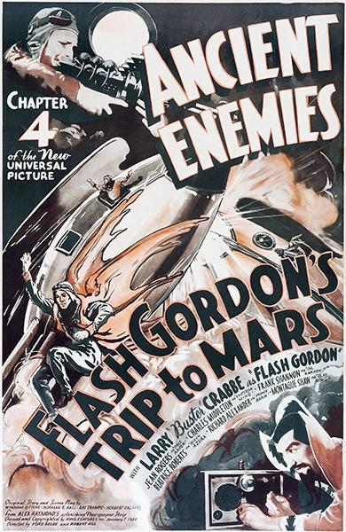 Primary image for Flash Gordon's Trip To Mars - Ancient Enemies - 1938 - Movie Poster