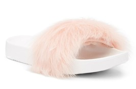 New in Box - UGG Australia Royale Genuine Lamb Fur Baby Pink Slide Size 8 - $39.59