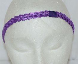 Pan Handle Babies Braid Bow Band Size Teen Item Number 1301B Purple image 4