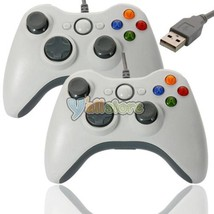 10X USB Wired GamePad Controller Like for Microsoft PC White - $95.90
