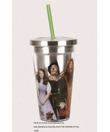 The Wizard of Oz Cast Image 18 oz. Insulated Stainless Travel Cup, NEW U... - $17.41