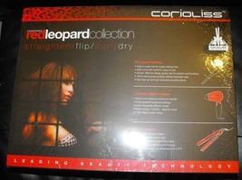 Corioliss Red Leopard Set Flat . Curler.Dryer. 120 v - 220 v   Sale!! - $138.60