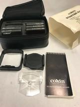 Cokin Lens Filter Starter Kit 1 For 35mm Cameras 5 Filters Plus Nib Old Stock - $49.49