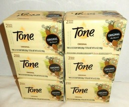 Tone Original Cocoa Butter Vitamin E 3.2 Oz Soap Bars Lot of 12 (2 x 6 b... - $23.99