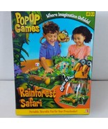 Rainforest Safari Pop Up Games Mattel Where Imagination Unfolds Complete - $12.20