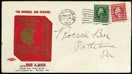 Central Union Tobacco Red & Gold Advertising Cover - Stuart Katz - $85.00