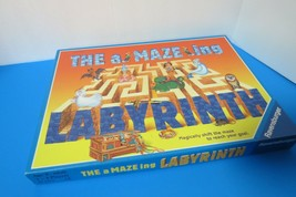 Vintage 1995 The Amazing Labyrinth Board Game Ravensburger Maze Board Game - $17.77