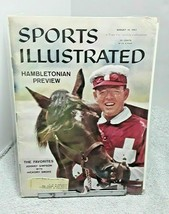 Sports Illustrated August 19 1957 Johnny Simpson with Hickory Smoke  - $12.19