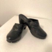 Sz 9 Black Cato Clogs/Mules/Slides - $59.95