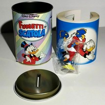 Extremely Rare! Walt Disney Scrooge McDuck Old Italian Piggy Bank Box Ei... - $168.30