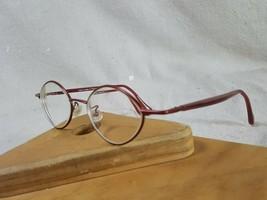 face a face eyeglass frames Nirva 923 Red Hand Made France 46 18 140 - $39.59
