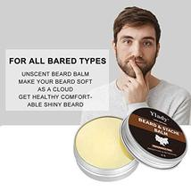 Beard Grooming Kit 100% Natural Beard Care Set for Mustache Growth Includes Unsc image 6