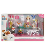 Secret Life of Pets 2 Deluxe Pet Collection 10 Character Pieces New - $39.59