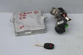 05 Accord 2.4L ATX ECU ECM Engine Control Module w/ Immo & 1 Key 37820-RAD-A54