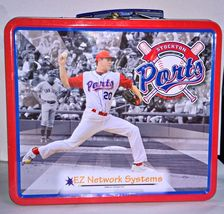 Stockton Ports Minor League Team Baseball Metal Lunch Bucket 6 Players - $19.95