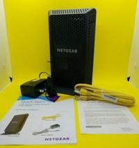 NETGEAR CM600 - 100NAR Cable Modem - Black Refurbished  - $37.04