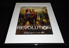 Revolution 2012 NBC Framed ORIGINAL 11x14 Advertisement Tracy Spiridakos - $32.36