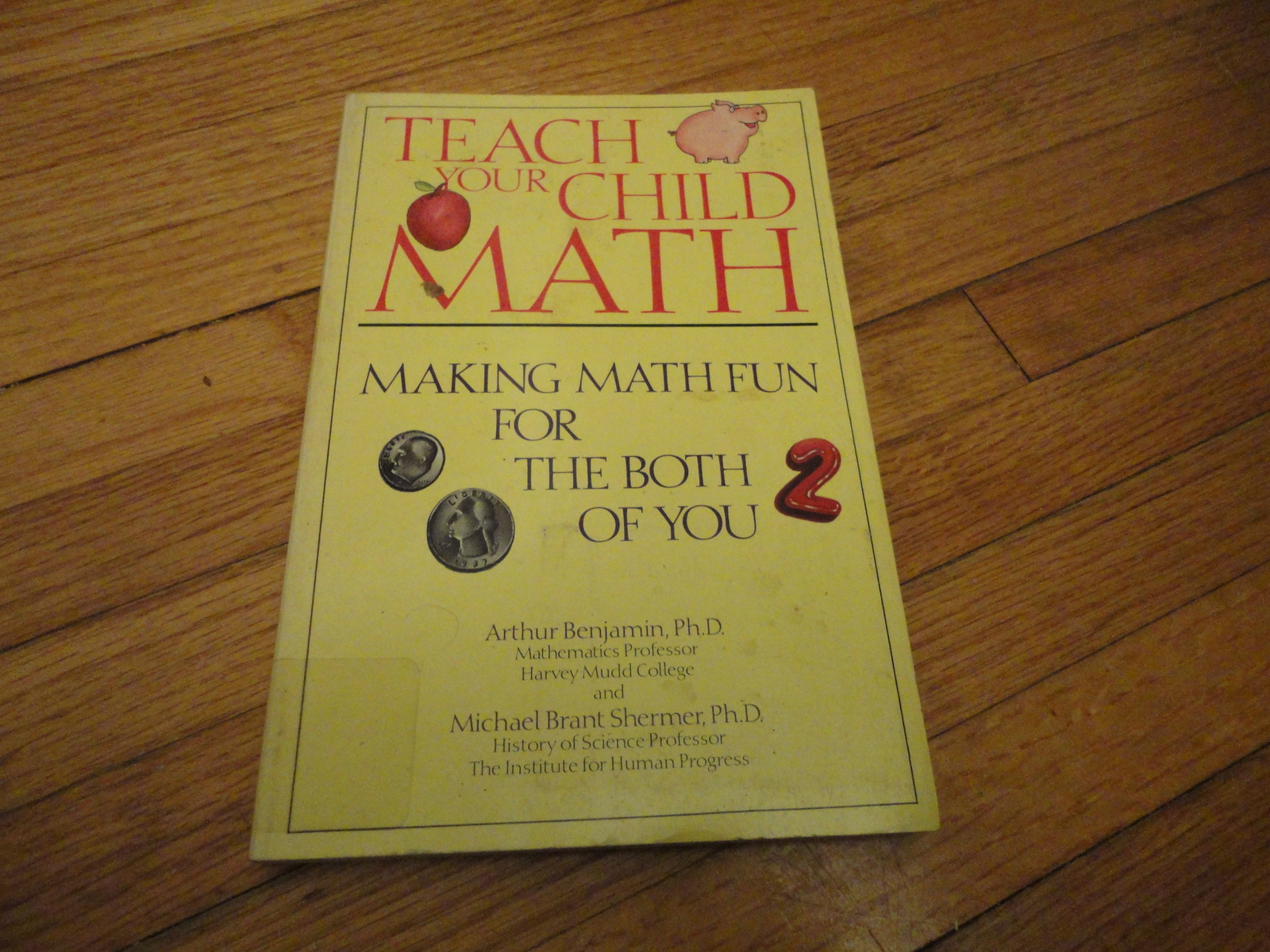 Primary image for BOOK Benjamin/Shermer 'Teach Your Child Math: Making Math Fun For Both Of You'