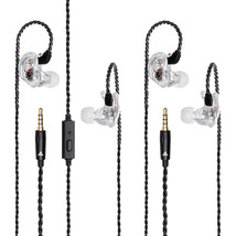 QKZ VK1 Colorful 4DD In Ear Earphone Hybrid Headset HIFI Bass Noise Canc... - $32.00