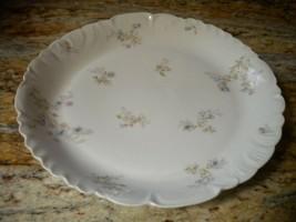 """Vintage CH Field Haviland Limoges GDA France 11 1/2"""" Serving Platter Plate - $45.54"""