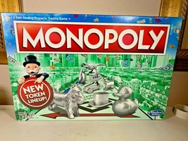 Original Genuine Hasbro Monopoly Classic Edition Traditional Family Game... - $72.63