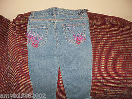 Faded Glory Embellished  Pants Size 4 Girls NEW - $17.80