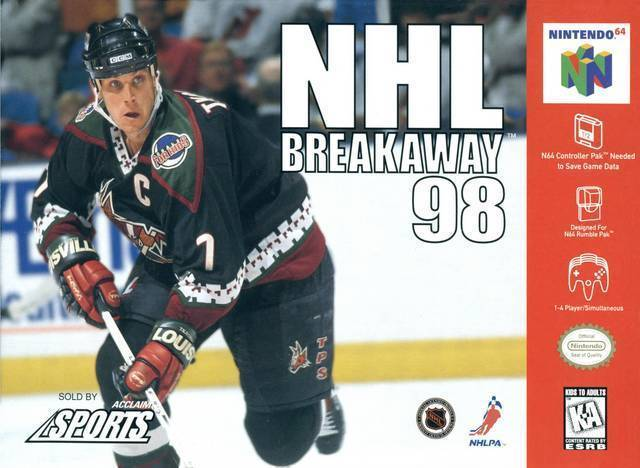 NHL Breakaway 98 N64 Great Condition Fast Shipping