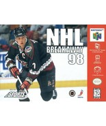 NHL Breakaway 98 N64 Great Condition Fast Shipping - $6.93