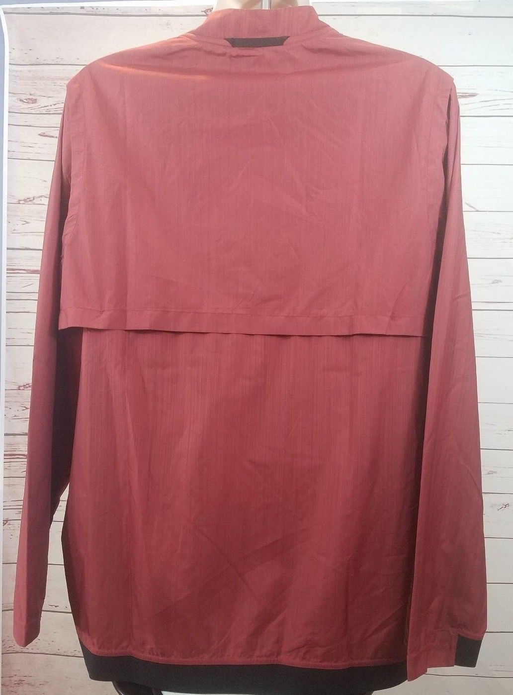 Nike Alabama Crimson Tide Lockdown Jacket Men's Large Red 1/4 Zip $75 908417