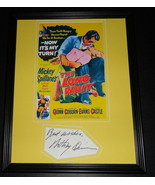Anthony Quinn Facsimile Signed Framed 11x14 Photo Display The Long Wait - $46.39