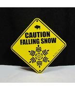 Caution Falling Snow Buffalo New York Embossed Sign - $14.95