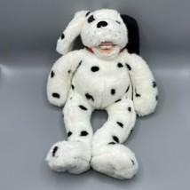 "Dalmatian Vintage Plush Build A Bear BAB Spotted Dog Black White 17"" 2007 - $22.76"